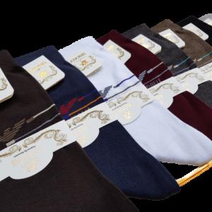 جوراب مردانه پنبه ساقدار نانو