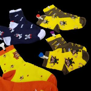 جوراب بچه گانه چهار شماره