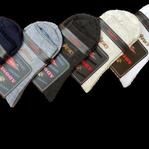جوراب مردانه نیم ساق ژلاتینی