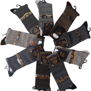 جوراب مردانه ساقدار پنبه دوفس لاکچری
