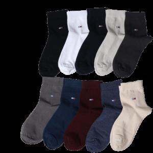 جوراب مردانه پنبه نیم ساق