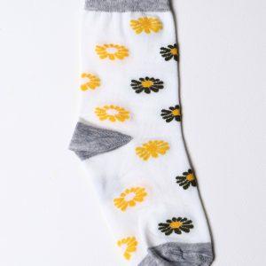 جوراب زنانه ساق دار فانتزی